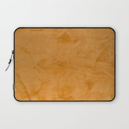 Dante Orange Stucco - Luxury - Rustic - Faux Finishes - Venetian Plaster Laptop Sleeve