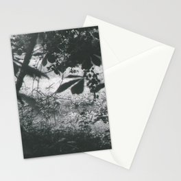 Deer Through the Leaves Stationery Cards