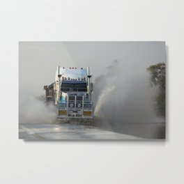 Road Train Metal Print