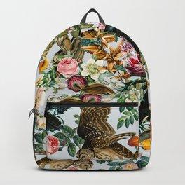 FLORAL AND BIRDS VI Rucksack