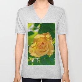 Gold rose Unisex V-Neck