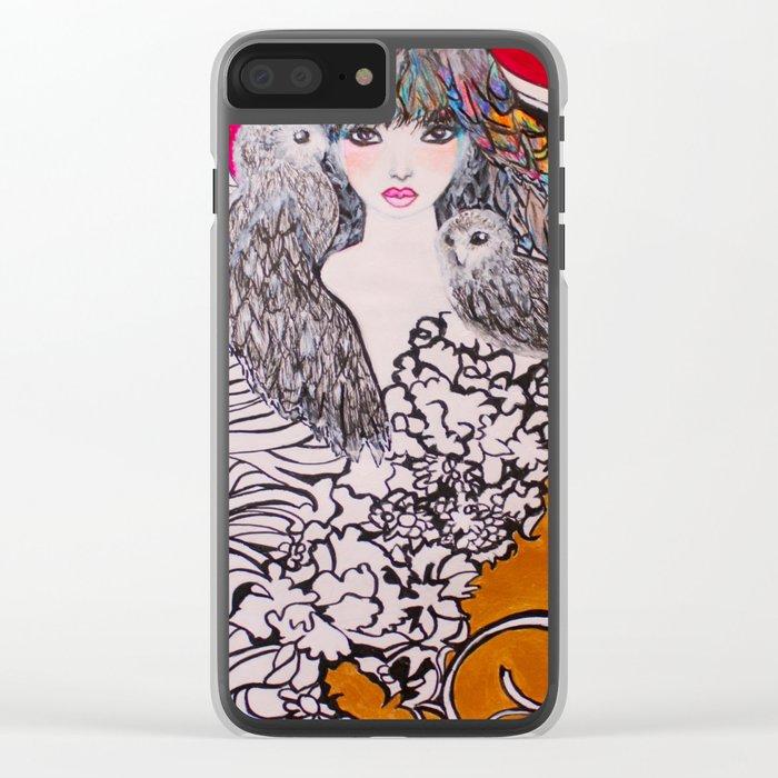 ECLIPSE #society6 #decor #buyart Clear iPhone Case