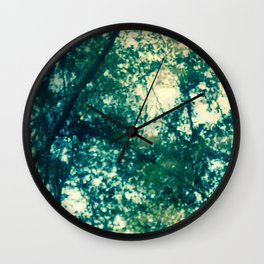 River Trees Wall Clock