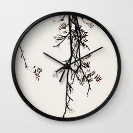 Delicate like snow Wall Clock