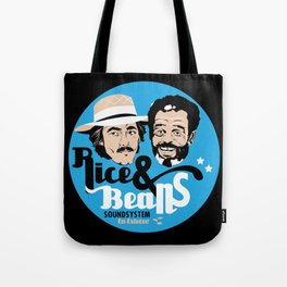 Rice & Beans Sound Poster Tote Bag
