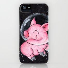 Orbital Piggy iPhone Case
