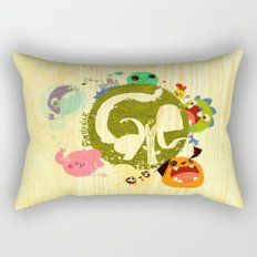 CARE - Love Our Earth Rectangular Pillow