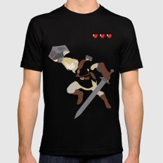 The Legend of Zelda - Link SMALL Black Mens Fitted Tee