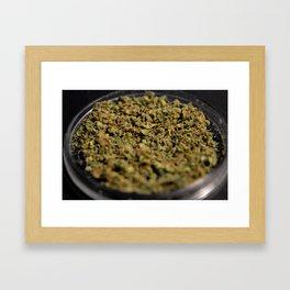 ground bud Framed Art Print