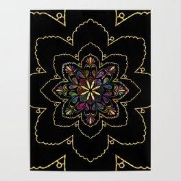 Mandala of Wishes Poster