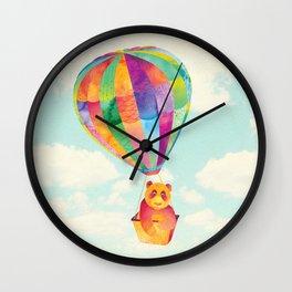 Shanti Sparrow: Theodora the Panda Wall Clock