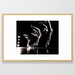 Rehearsal - Dancer Series 1 Framed Art Print