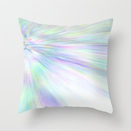 Re-Created Rapture 3 by Robert S. Lee Throw Pillow
