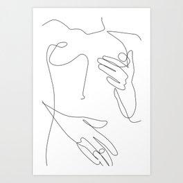 Sensual Erotic Art Print