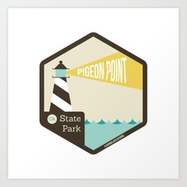 Pigeon Point State Park Art Print