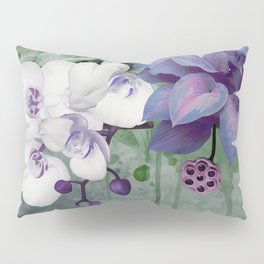 FLORAL MAGIC HORNBILL Pillow Sham