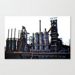 Bethlehem Steel Blast Furnace 2 Canvas Print