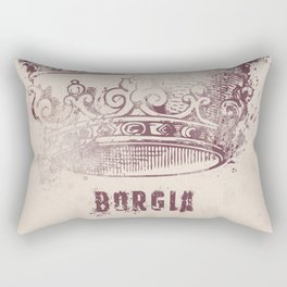 Borgia - Tv series - , Alternative movie Poster, tv series, Tom Fontana Rectangular Pillow