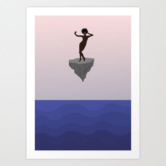 Sunken Art Print