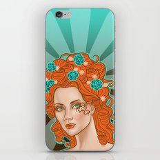 Morgana De Lisle iPhone & iPod Skin