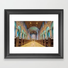 Galway Cathedral Framed Art Print