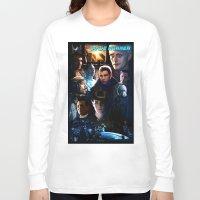 blade runner Long Sleeve T-shirts featuring Blade Runner by Saint Genesis