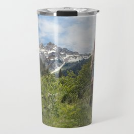 Hiking Man Travel Mug
