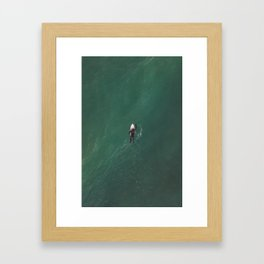 Get out there, 2018 Framed Art Print