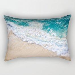 Ocean Beach Bali Rectangular Pillow