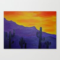 mexico Canvas Prints featuring Mexico by Monica Georg-Buller