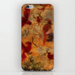 The Cardinal Tree Collage iPhone Skin