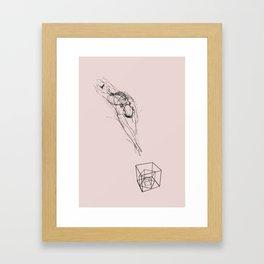 Jumper number 1047 Framed Art Print