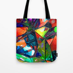 Jagged Little Morning Tote Bag