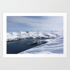 Blackstone Bay Art Print