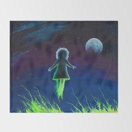 Dream Field Spectre Throw Blanket