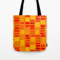 mosaic Tote Bags featuring mosaic by Ioana Luscov