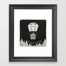 midnight journey Framed Art Print