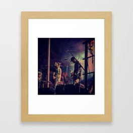 Jesse Lacey- Brand New Concert 2 Framed Art Print