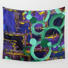 .through the ringer. Wall Tapestry