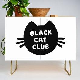 Black Cat Club Credenza