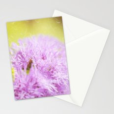 Lavender flower macro Stationery Cards
