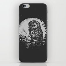 Friend of the Night iPhone Skin