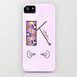 K iPhone Case