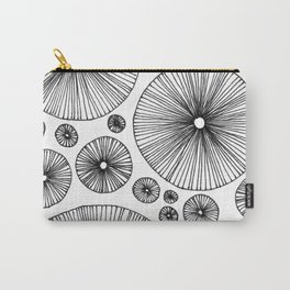 Under the Mushroom Circle Graphic Pattern Carry-All Pouch