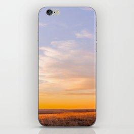 Golden South Dakota Sunset iPhone Skin