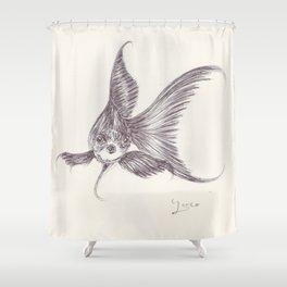 BALLPEN FISH 3 Shower Curtain