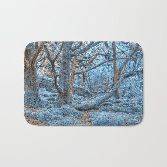 Sapphire Forest Bath Mat
