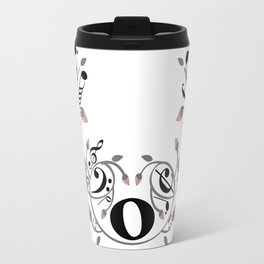 Music swirl Travel Mug