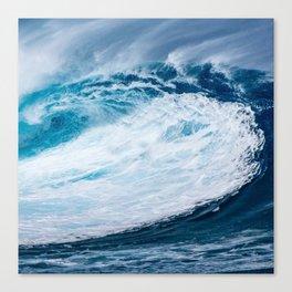 Wave Wave Canvas Print