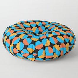 45's Orange/Blue Floor Pillow